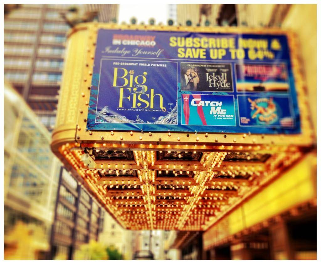 big fish marquee