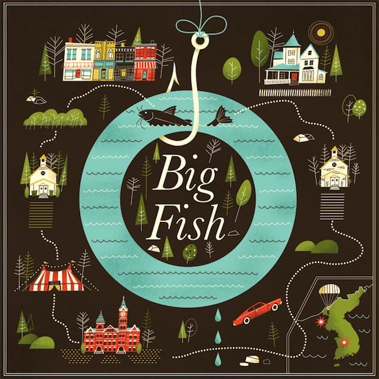 big fish brad woodward