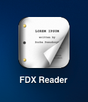 fdx reader icon