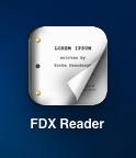 fdx reader icon