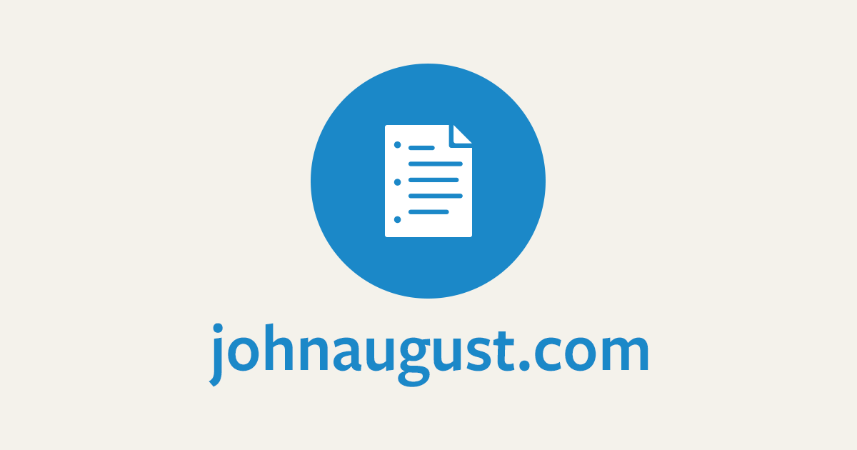 The official site of screenwriter and author John August