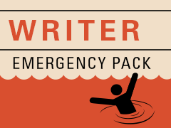Writer Emergency Pack - helping writers get unstuck.