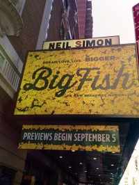 big fish sign