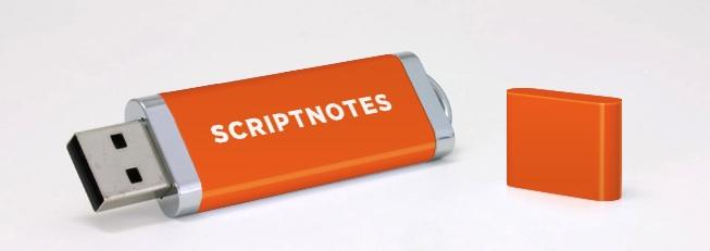 scriptnotes drive
