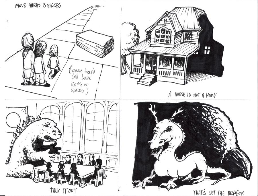 unstuck illustrations