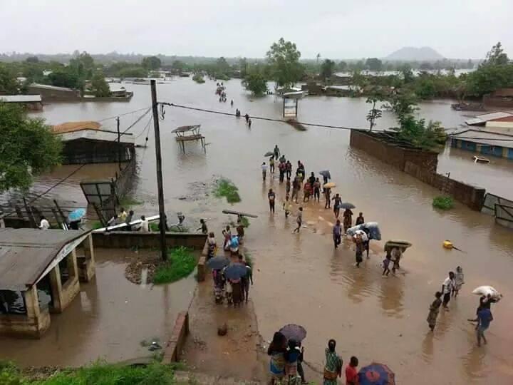 flooded malawi