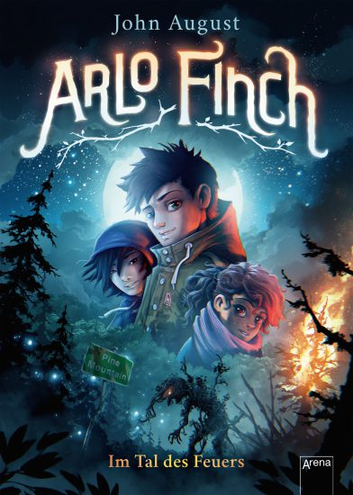 German cover for Arlo Finch