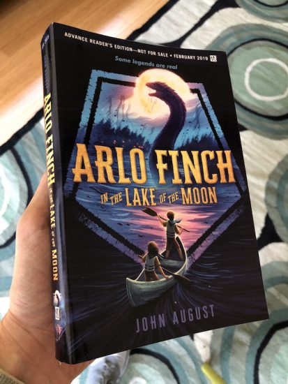 arlo finch lake of moon book