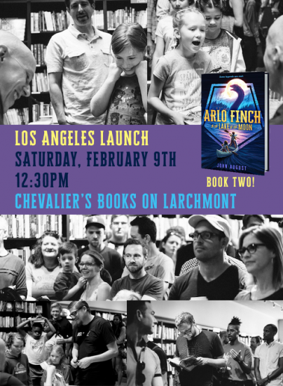 Invite for LA book signing