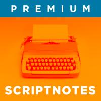 premium scriptnotes logo